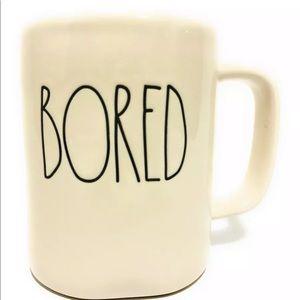 Rae Dunn Artisan Collection BORED Coffee Mug